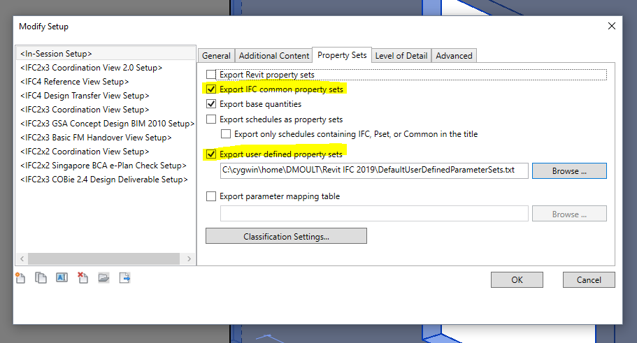 How to create better IFC files with Revit